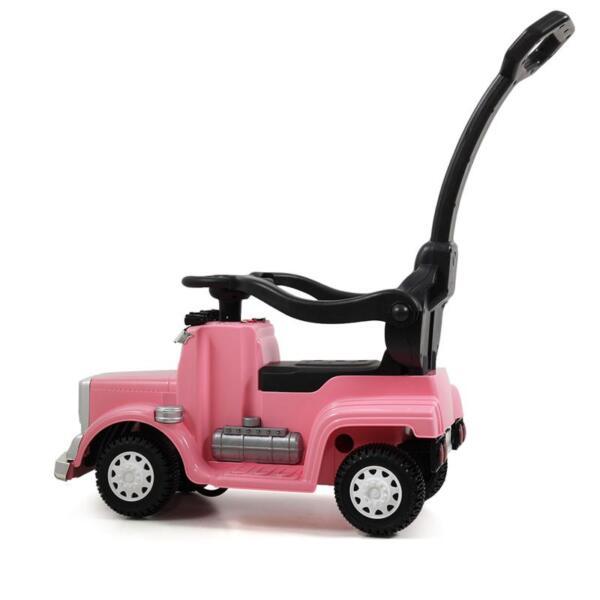 Toddler Push Car Kids Electric Ride-on Car, Pink toddler push car kids electric ride on car pink 17 1