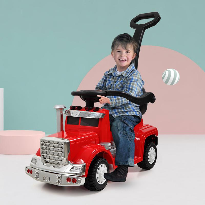 Electric Push Riding Toys Ride on Push Car for Toddlers, Red toddler push car kids electric ride on car red 6 1
