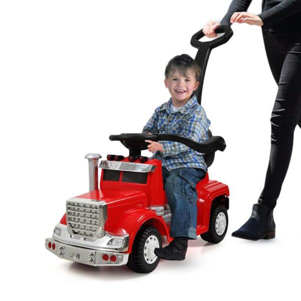 Electric Push Riding Toys Ride on Push Car for Toddlers, Red toddler push car kids electric ride on car red 9