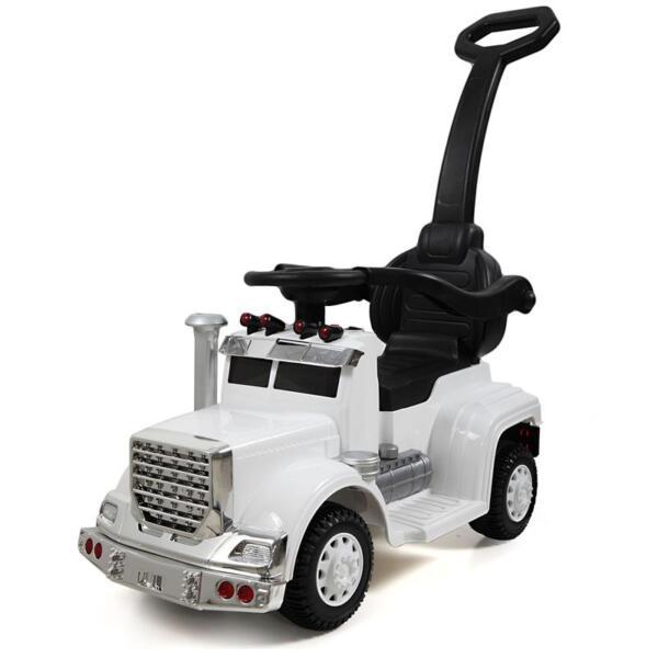 Toddler Push Car Kids Electric Ride-on Car, White toddler push car kids electric ride on car white 10