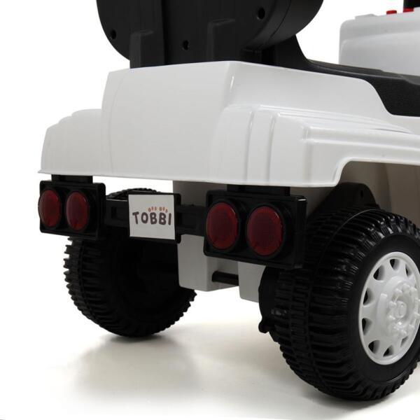 Toddler Push Car Kids Electric Ride-on Car, White toddler push car kids electric ride on car white 16